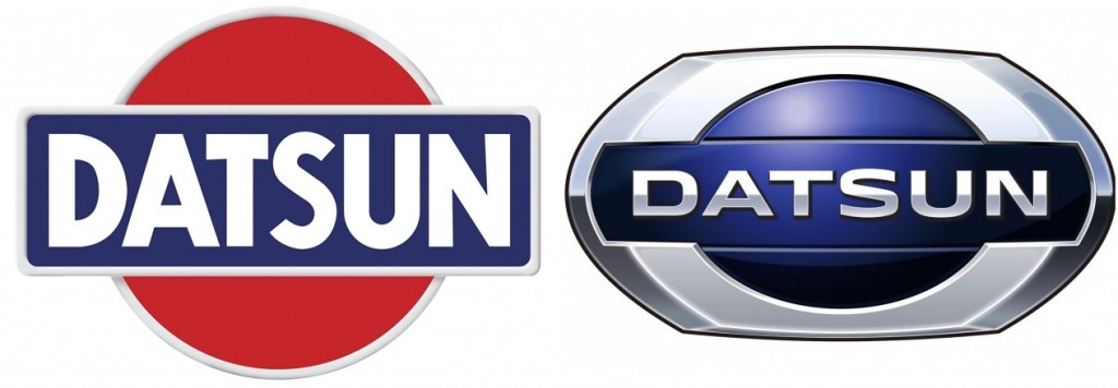 Datsun Old and New Logo