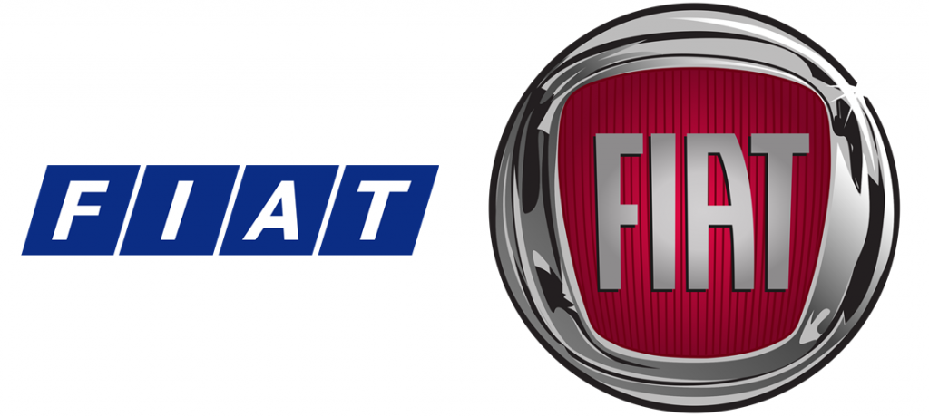 FIAT Logo Old and New